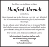 Manfred Ahrendt