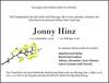Jonny Hinz