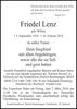 Friedel Lenz