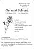 Gerhard Behrend