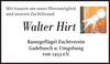 Walter Hirt