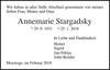 Annemarie Stargadsky