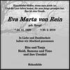 Eva Marta von Rein