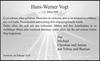 Hans-Werner Vogt