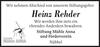 Heinz Rehder