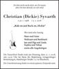 Christian Dickie Syvarth