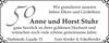 Anne und Horst Stuhr