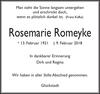 Rosemarie Romeyke