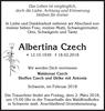Albertina Czech