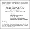 Anna-Maria Mett