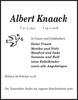 Albert Knaack