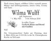 Wilma Wulff