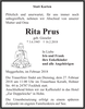 Rita Prus