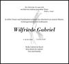 Wilfriede Gabriel