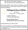 Hildegard Anna Kähler