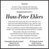 Hans-Peter Ehlers