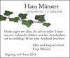 Hans Münster