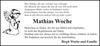Mathias Woche
