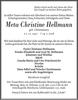 Meta Christine Hellmann
