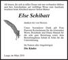 Else Schibatt