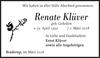 Renate Klüver