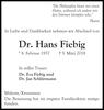 Dr. Hans Fiebig