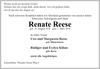 Renate Reese