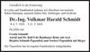 Dr.-Ing. Volkmar Harald Schmidt