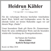 Heidrun Kähler