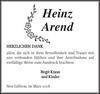 Heinz Arend