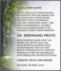 Dr. Bern Har D Protz