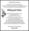 Hildegard Dube