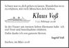 Klaus Voß