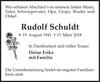 Rudolf Schuldt