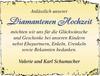 Dianmantenen Hochzeit Valerie und Karl Schumacher