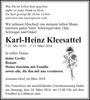 Karl-Heinz Kleesattel