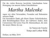 Martha Malenke