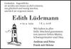 Edith Lüdemann