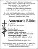 Annemarie Bildat