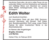 Edith Wolter