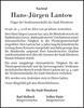 Hans-Jürgen Lantow