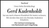 Gerd Kudenholdt