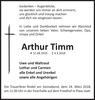 Arthur Timm