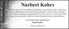 Norbert Kohrs