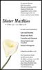 Dieter Matthies