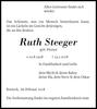 Ruth Steeger