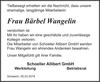 Frau Bärbel Wangelin