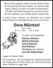 Dora Müntzel