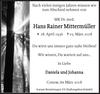 Hans Rainer Mittermüller