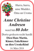 Anne Christine Andresen